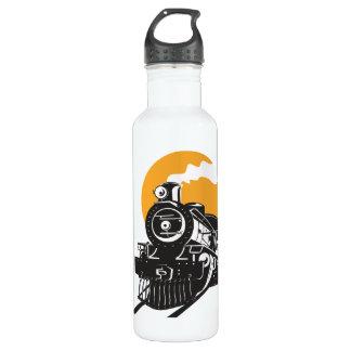 Steam Train Stainless Steel Water Bottle