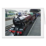 Steam Train Stationery Note Card