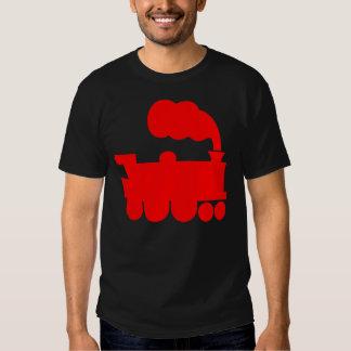 Steam Train Symbol - Red Shirts
