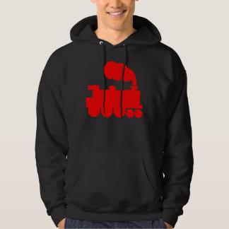 Steam Train Symbol - Red Sweatshirt