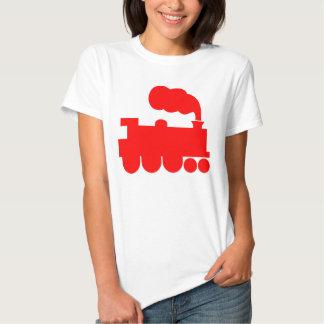 Steam Train Symbol - Red Tshirt
