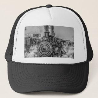 Steam Train Trucker Hat