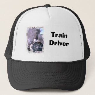 Steam train USA Trucker Hat