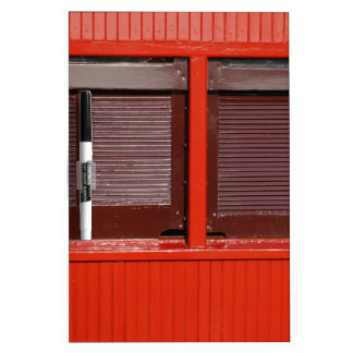STEAM TRAIN WINDOW SHUTTERS RURAL AUSTRALIA Dry-Erase WHITEBOARDS