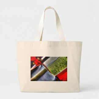 STEAM TRAIN WINDOW WITH ART EFFECTS JUMBO TOTE BAG