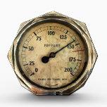 "STEAM TRAINS ACRYLIC AWARD<br><div class=""desc"">An old pressure gauge from a steam train.</div>"