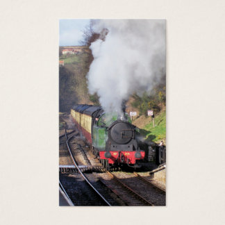 STEAM TRAINS BUSINESS CARD