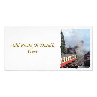 STEAM TRAINS CARD