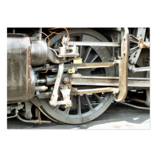 STEAM TRAINS LARGE BUSINESS CARDS (Pack OF 100)