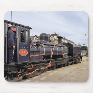 STEAM TRAINS MOUSE PAD