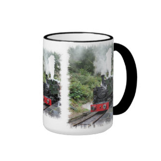 STEAM TRAINS RINGER COFFEE MUG