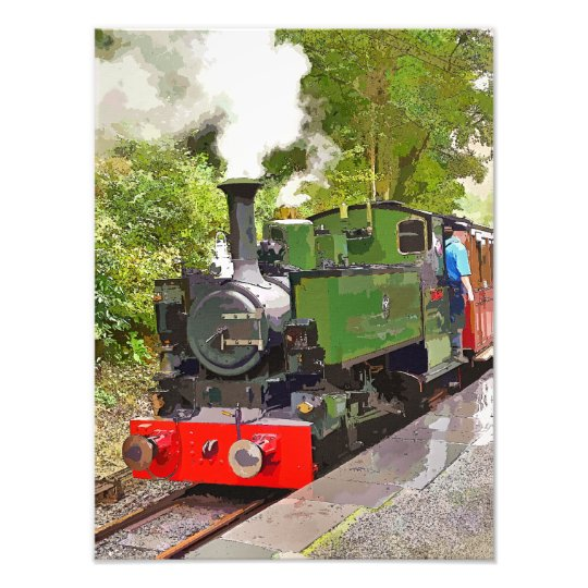 STEAM TRAINS PHOTO PRINT