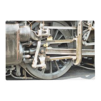 STEAM TRAINS PLACEMAT