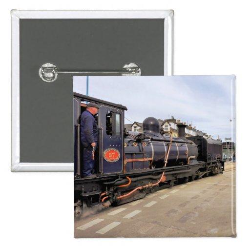 STEAM TRAINS UK BUTTON