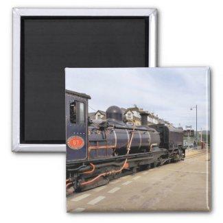 STEAM TRAINS UK MAGNET
