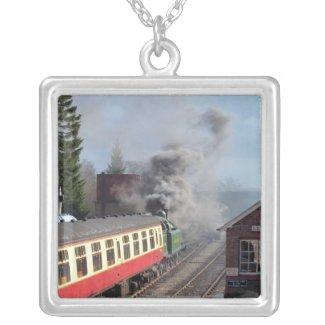 STEAM TRAINS UK necklace