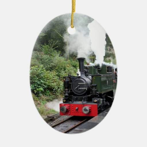 STEAM TRAINS UK ORNAMENT