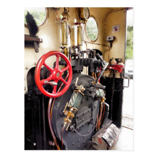 STEAM TRAINS UK POST CARDS
