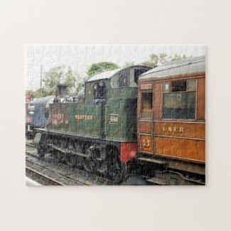 STEAM TRAINS UK PUZZLES