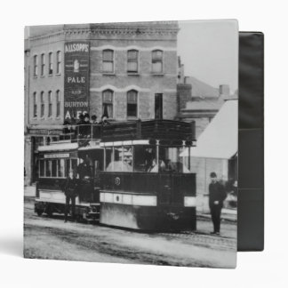 Steam Tram in North London in the 1880s Binder