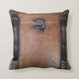 Steam Trunk Throw Pillow