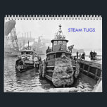 """Steam Tugs Calendar<br><div class=""""desc"""">Here are some hardworking tugs in the days before diesel.</div>"""