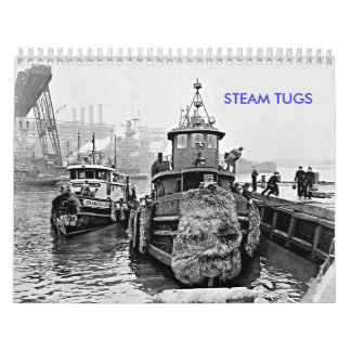 Steam Tugs Calendar
