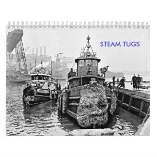 Steam Tugs Calendar