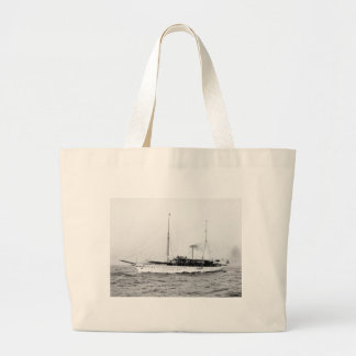 Steam Yacht Emerald early 1900s Canvas Bag