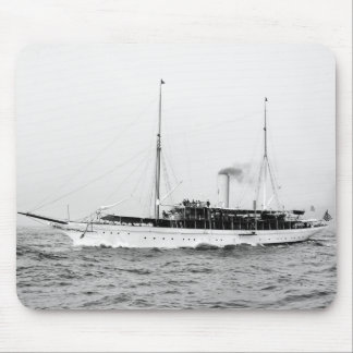 Steam Yacht Emerald, early 1900s Mouse Pad