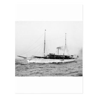 Steam Yacht Emerald, early 1900s Post Cards