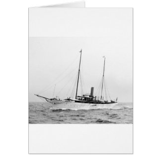 Steam Yacht North Star, early 1900s Card