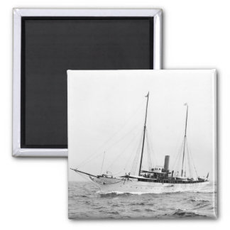 Steam Yacht North Star, early 1900s Magnet