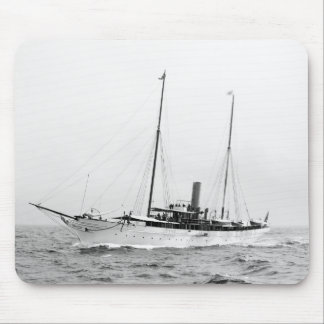 Steam Yacht North Star, early 1900s Mouse Pad