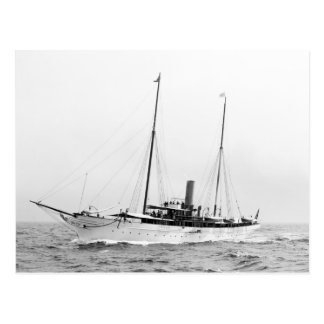Steam Yacht North Star, early 1900s Postcard
