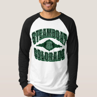 Steamboat 1884 Colorado Green T-Shirt
