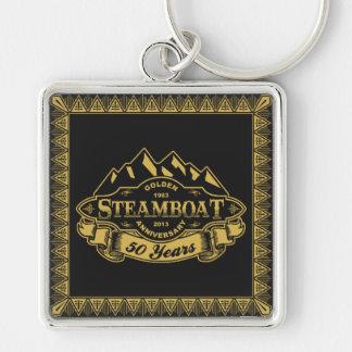 Steamboat 50th Anniversary Emblem Key Chains