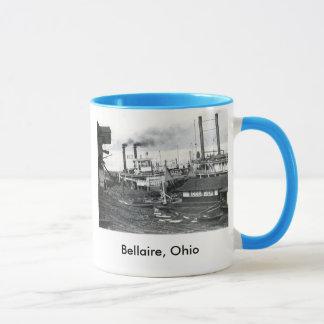 steamboat, Bellaire, Ohio Mug