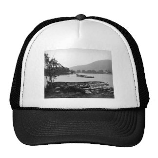 Steamboat graveyard Lake George New York Trucker Hat