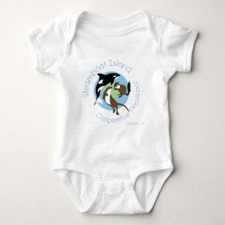 Steamboat Island Coop Preschool Baby Bodysuit