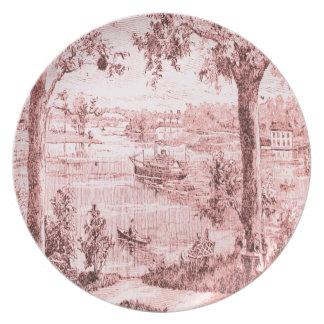 Steamboat Lake Dinner Plate