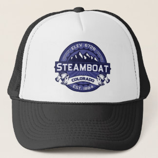 Steamboat Logo Midnight Trucker Hat