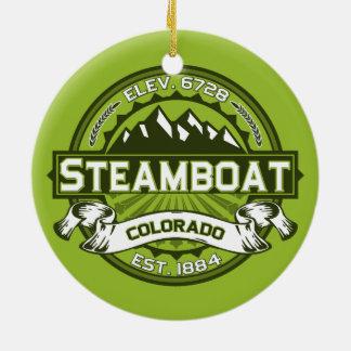 Steamboat Logo Ornament