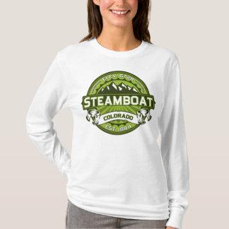 Steamboat Logo Spring Green T-Shirt