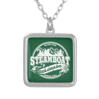 Steamboat Old Circle Green Pendants
