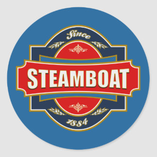 Steamboat Old Label