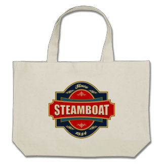Steamboat Old Label Canvas Bags