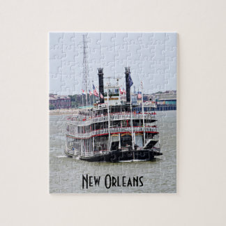 Steamboat on the Mississippi River Jigsaw Puzzle