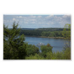 Steamboat on the Mississippi River Print