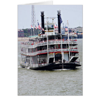 Steamboat on the Mississippi River Stationery Note Card